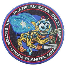 Star Trek Work Bee Development Project Patch Embroidered Sew/iron on 12.75cm