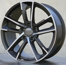"19"" Wheels For Audi A3 A4 A6 VW Passat Jetta Golf EOS 19X8.5 +45 5X112 Rims Set"