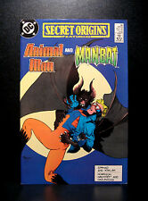 COMICS: DC: Secret Origins #39 (1980s), Animal Man/Man-Bat - RARE (batman/flash)
