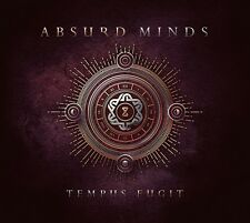 ABSURD MINDS Tempus Fugit - CD - Digipak - VÖ / REL. DATE - 27.01.2017