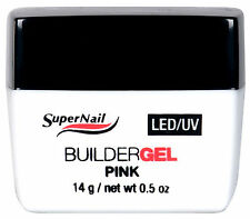 SuperNail LED/UV Builder Gel Pink 14g / 0.5oz - 51604