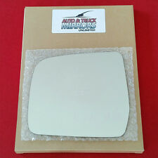 NEW Mirror Glass + ADHESIVE 96-99 TOYOTA 4RUNNER Driver Left Side * FAST SHIP *