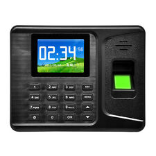"Realand A-E260 2.8"" Biometric Fingerprint Attendance Time Clock Employee Check"