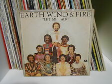 """EARTH WIND & FIRE """"LET ME TALK"""" 7""""  MADE IN U.S.A. 1-11366 ARC 1980"""