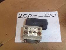 2008-13 MITSUBISHI L200 2.5 ABS UNIT ECU MODULE  M4 4670A060 135110-19800