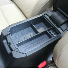 Center Armrest Organizer Box Storage Box Black For TOYOTA RAV4 2014 2015 2016