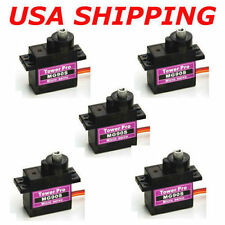 5PCS MG90S Micro Metal Gear 9g Servo for RC Plane Helicopter Boat Car