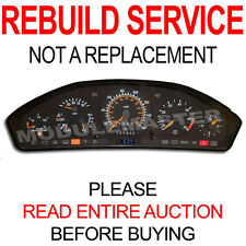 90 91 92 93 94 Mercedes SL S Class Instrument Cluster REBUILD REPAIR