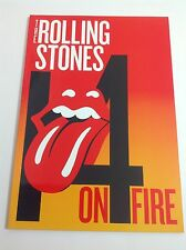 The Rolling Stones 14 On Fire 2014 Tour Program MINT