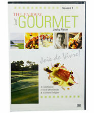 New SEASON 1 THE FAIRWAY GOURMET 2- DVD SET w/ 13 EPISODES JACKY PLUTON