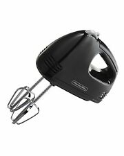Hand Mixer Electric 5 Speed Handheld Blender Bakery Cake Kitchen Paddle Mix Stir