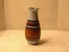 Vintage Lapid Israel Art Pottery Vase Artist Signed Esther