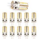 10x Offgridtec® G4 2,5W Silica Gel LED 12V Warmweiß 48 SMD 3010