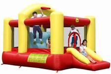 Duplay 14ft Adventure Bouncy Castle with Airflow Fan - Kids Outdoor Toy Fun