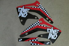 ONE INDUSTRIES CHECKERS GRAPHICS HONDA CR85 2003 2004 2005 2006 2007 CR85R