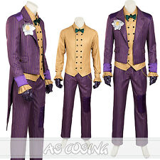 Batman Arkham Asylum Dark Knight Joker Cosplay Costume Halloween Costume