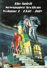 The Spirit Newspaper Sections 1940 - July Photocopy Comic Book, Lady Luck