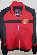 NIKE MANCHESTER United Mens Authentic Full Zip Track Jacket Red Sz Large Soccer