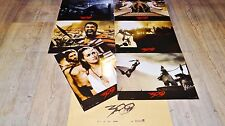 300 !  frank miller jeu photos cinema lobby cards peplum