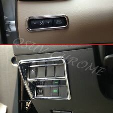 Chrome Dashboard Switch Cover For Nissan Qashqai J11 2014-2016 Accessories