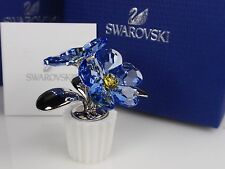 SWAROVSKI CRYSTAL FLOWER, FORGET-ME-NOT RETIRED 2015 MIB #5045569