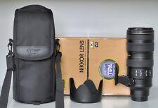 Nikon af-s 70-200mm F/2.8 G VR II en excellent état