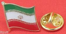 Iran Country Flag Lapel Hat Cap Tie Pin Badge Brooch Islamic Republic of