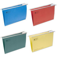 Foolscap Suspension Files 4 Colours 50's ,100's & 200's From £10.20 per 50!