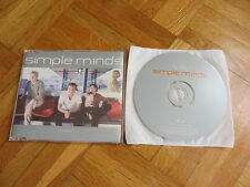 SIMPLE MINDS War Babies 1998 EUROPEAN Promo CD single