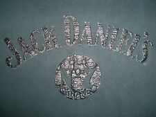 Jack Daniel's Old No. 7 Brand Tenessee Whiskey Black Graphic Print T Shirt M