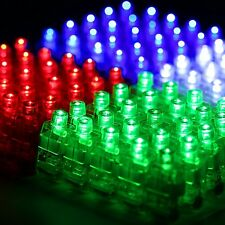 100 PCS LED Finger Light Laser Rave Party Favor Glow Beams WHOLESALE USA SELLER