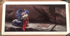 Labyrinth Movie Art Print Poster 'ello The Worm Caterpillar Ashton Gallagher