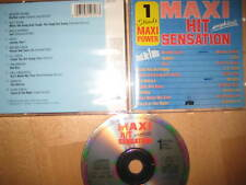CD Maxi-Hit-Sensation Modern Talking Bruce & Bongo Geil Den Harrow CC. Catch