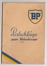 BP Olex Ratschläge gegen Motorstörungen Solex Vergaser um 1935 !