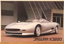 (PRL) 1990 JAGUAR XJ220 TOP SUPER CAR AUTO VINTAGE AFFICHE ART PRINT POSTER