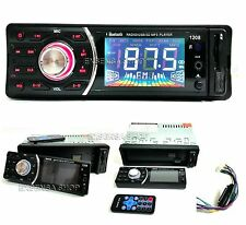 STEREO AUTO AUTORADIO AUX MP3 USB SD RADIO FM BLUETOOTH VIVA VOCE MOD.1208