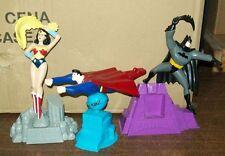 DC COMICS LOT OF 3 ANIMATED SERIES FIGURES BATMAN SUPERMAN WONDER WOMAN  #sw-766