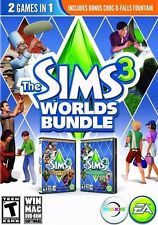 The Sims 3 Worlds Bundle PC Games Windows 10 8 7 XP monte vista hidden springs