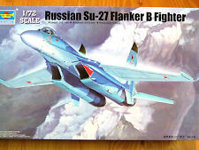 Trumpeter 1:72 Su-27 Flanker B Russian Fighter Aircraft Model Kit