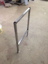 1 X Stainless steel Work Table Supports Workshop, Worktop bench supports.