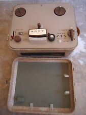 Sony 101 Reel to Reel Tape Recorder, Japanese, See Video!.       .(A (sn-129347)
