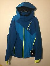 Spyder Highlands Ski Snowboard Insulated Jacket Coat 20K Blue NEW Men's 2XL $490
