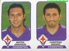 509 GRAFFIEDI / RIGANO ITALIA AC.FIORENTINA STICKER CALCIATORI 2004 PANINI