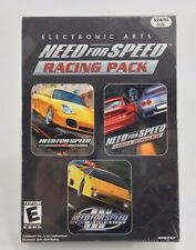 NEW Need For Speed Racing Pack Porsche High Stakes Hot Pursuit III SEALED - PC