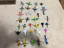 Lot of 34 MATCHBOX MAISTO & OTHERS Diecast AIRCRAFT Planes Helcopters MILITARY