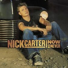 Now or Never by Nick Carter (CD, Oct-2002, Jive) Free Ship #JK38
