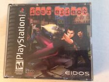FEAR EFFECT PS1 PLAYSTATION 1 BLACK LABEL COMPLETE