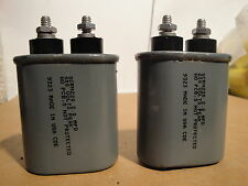 2 Ea C/D SCRN220 2 UF 600V Oval Capactiors