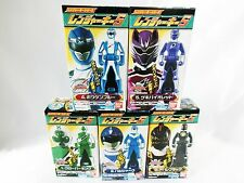 BANDAI Kaizoku Sentai GOKAIGER Ranger Key vol.5 All five Complete Set Candy Toy