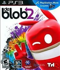 PS3 de Blob 2 Sony Playstation 3 Move 3D Compatible